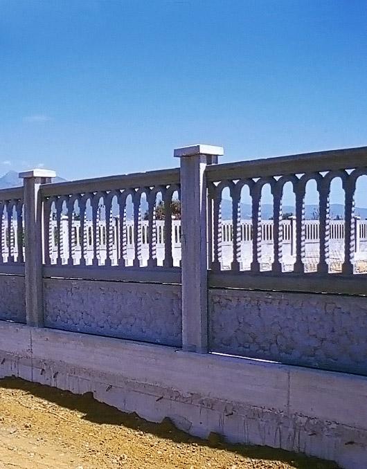 Pannelli per recinzioni in cemento for Pali cemento per recinzione