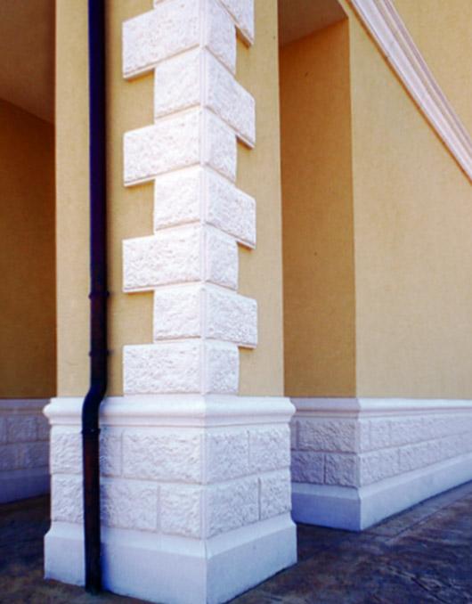 Zoccolature in cemento per muri art 93 94 95 b for Decorazioni per muri